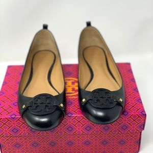 Tory Burch Mini Miller Ballet Loafers.